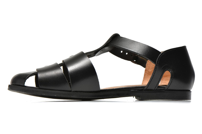 Sandales et nu-pieds Yep Eleonore Noir vue face
