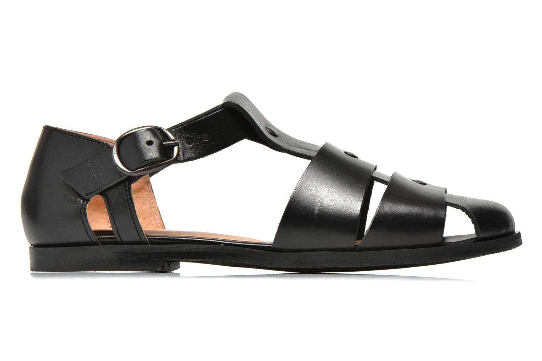 Sandales et nu-pieds Yep Eleonore Noir vue derrière