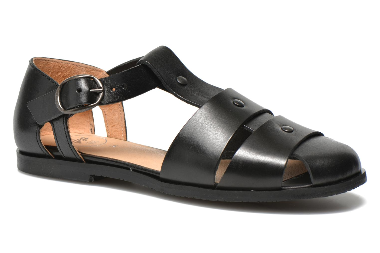 Sandales et nu-pieds Yep Eleonore Noir vue détail/paire