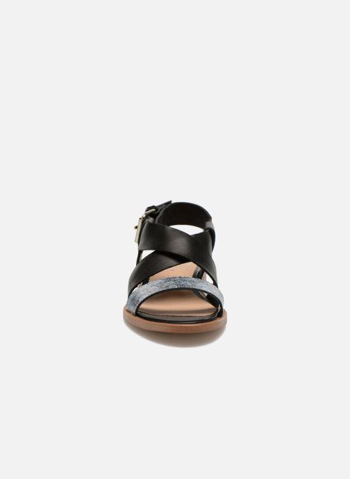 Sandales et nu-pieds Yep DanyB Noir vue portées chaussures