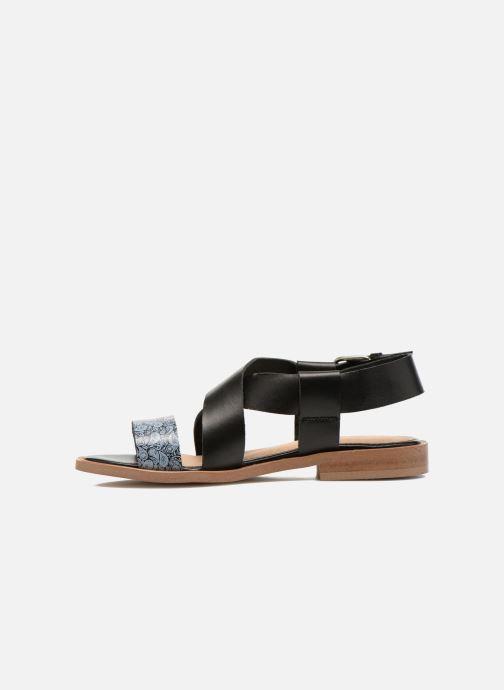 Sandales et nu-pieds Yep DanyB Noir vue face