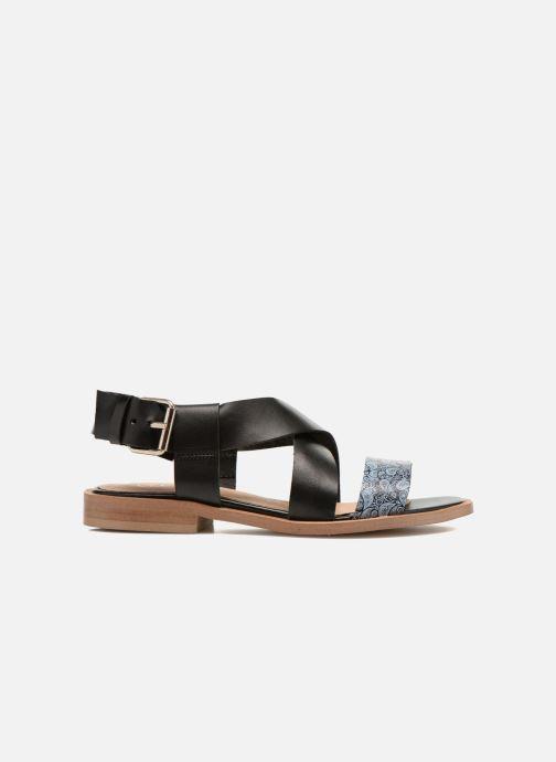 Sandales et nu-pieds Yep DanyB Noir vue derrière