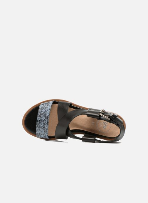 Sandales et nu-pieds Yep DanyB Noir vue gauche