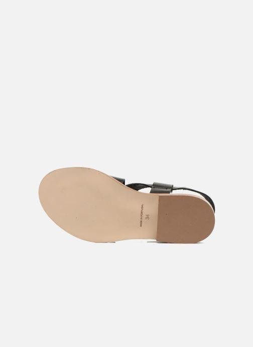 Sandales et nu-pieds Yep DanyB Noir vue haut