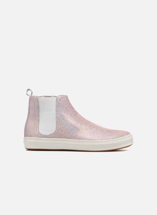 Boots en enkellaarsjes Yep Clarita Roze achterkant