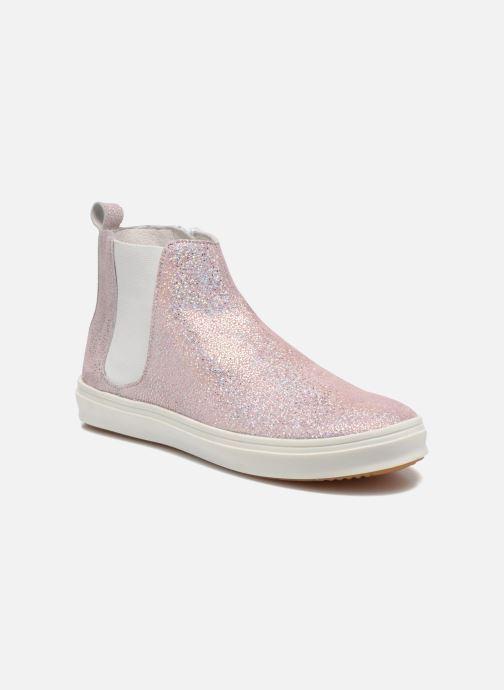 Boots en enkellaarsjes Yep Clarita Roze detail