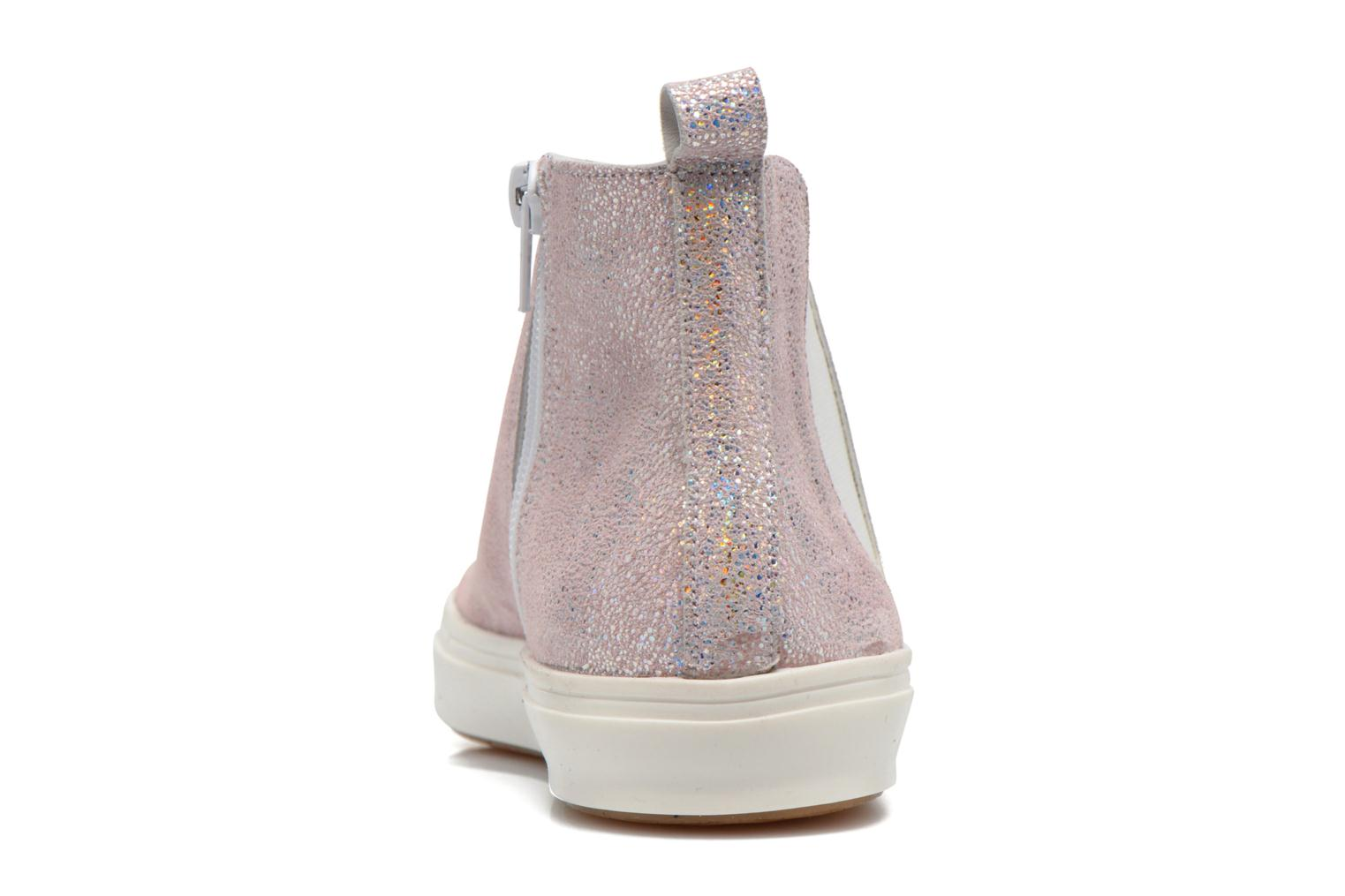 Ankle boots Yep Clarita Pink view from the right