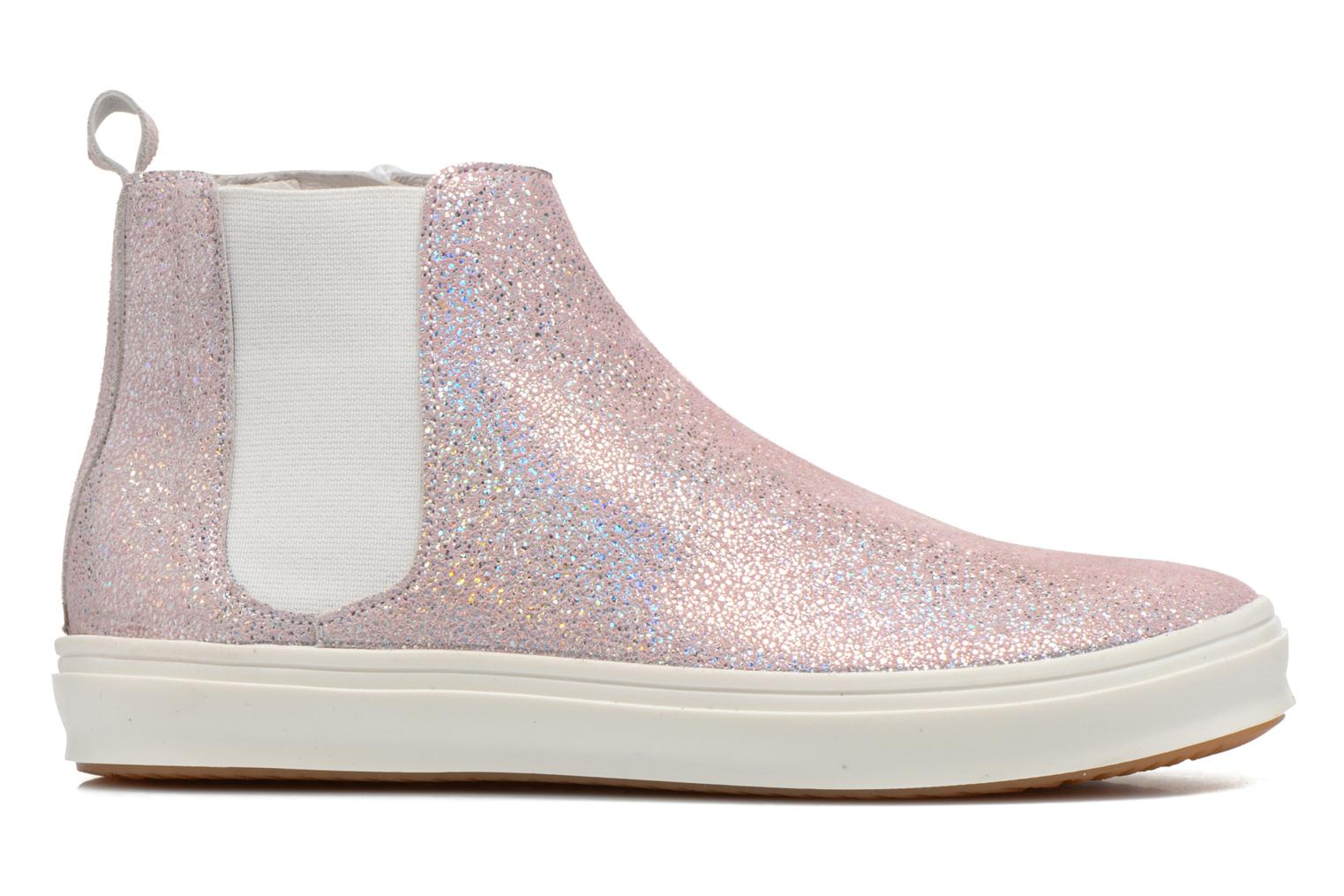Ankle boots Yep Clarita Pink back view