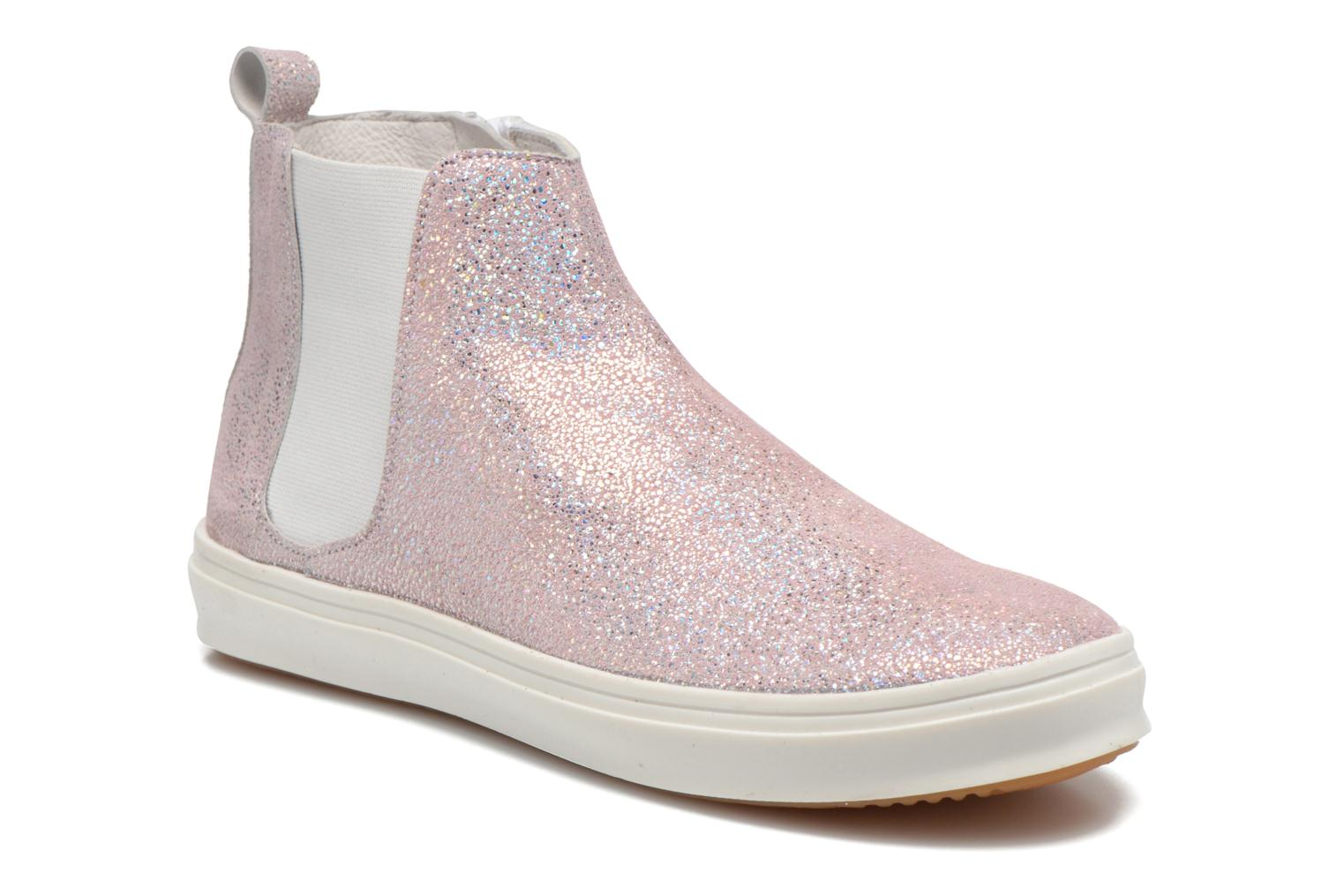 Ankle boots Yep Clarita Pink detailed view/ Pair view