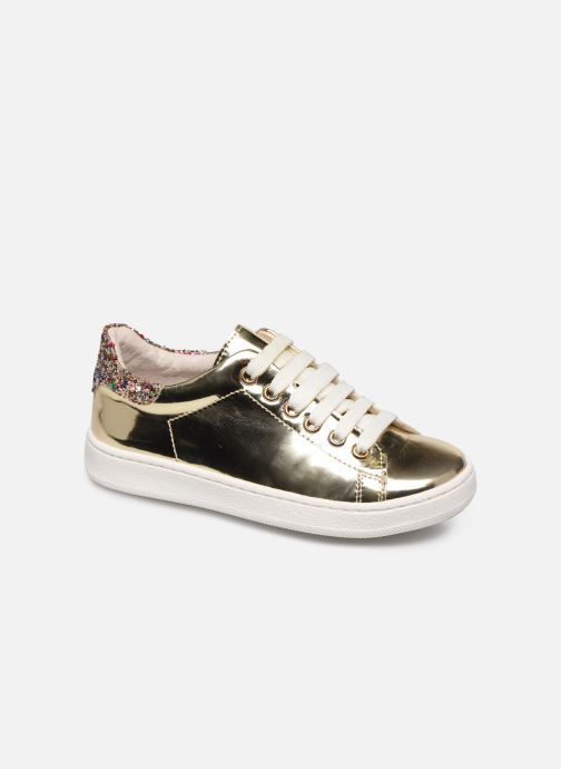 Trainers Yep Eden Bronze and Gold detailed view/ Pair view