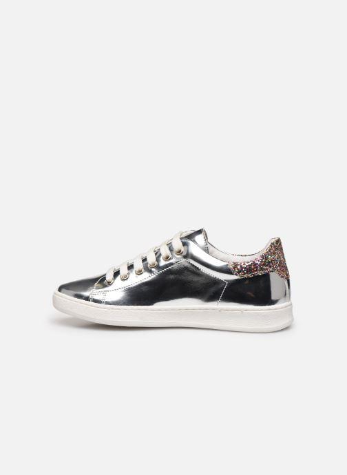 Sneaker Yep Eden silber ansicht von vorne