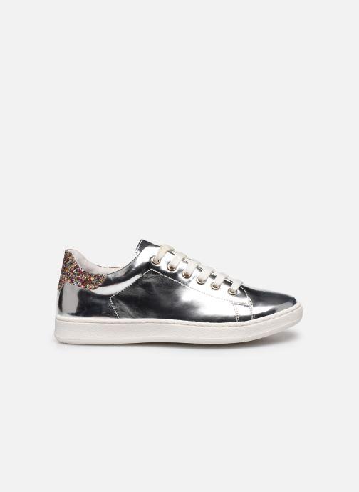 Sneaker Yep Eden silber ansicht von hinten