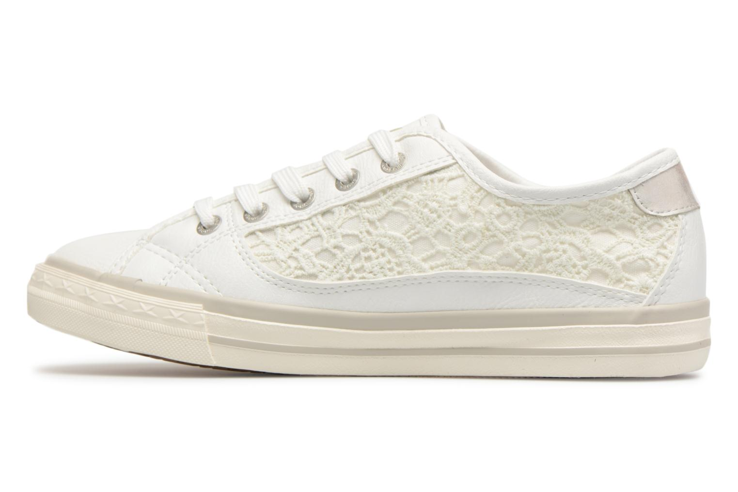 Trainers Mustang shoes Smith White front view