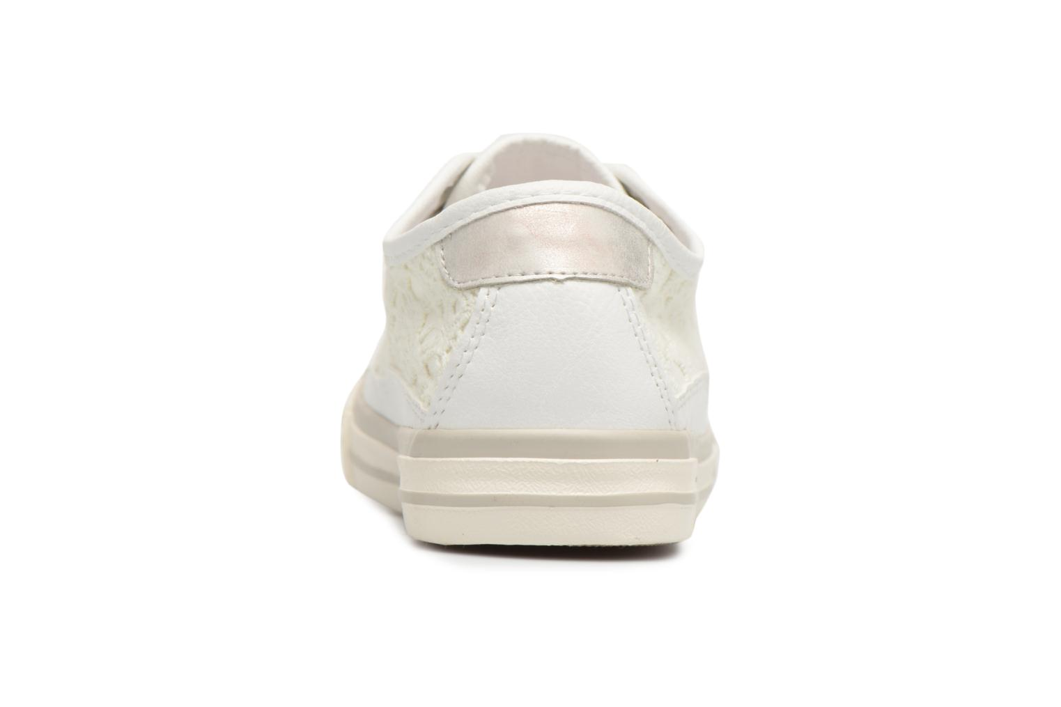 Trainers Mustang shoes Smith White view from the right