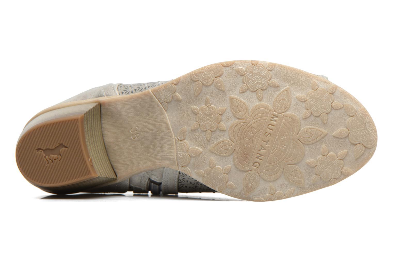 Sandali e scarpe aperte Mustang shoes Welle Argento immagine dall'alto
