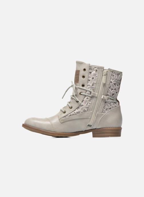 Bottines et boots Mustang shoes Freeze Gris vue face
