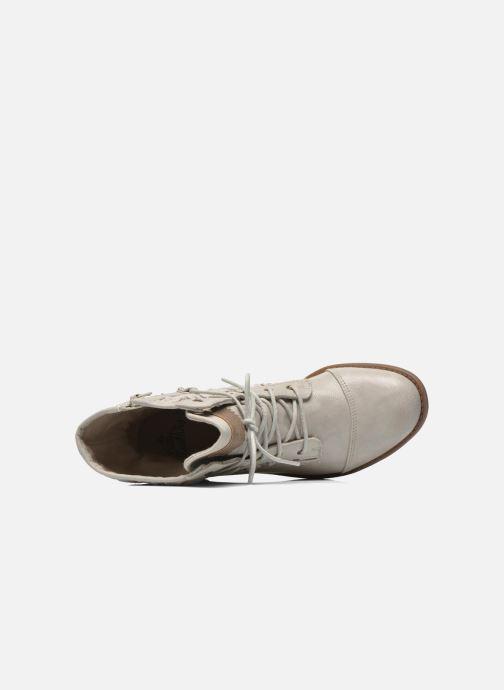 Bottines et boots Mustang shoes Freeze Gris vue gauche