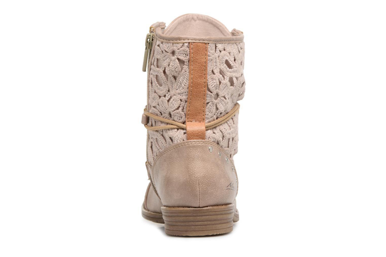 Stiefeletten & Boots Mustang shoes Freeze beige ansicht von rechts