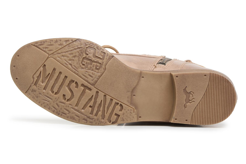 Stiefeletten & Boots Mustang shoes Freeze beige ansicht von oben
