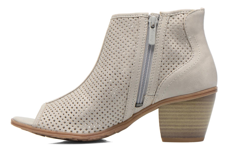 Bottines et boots Mustang shoes Lowle Gris vue face