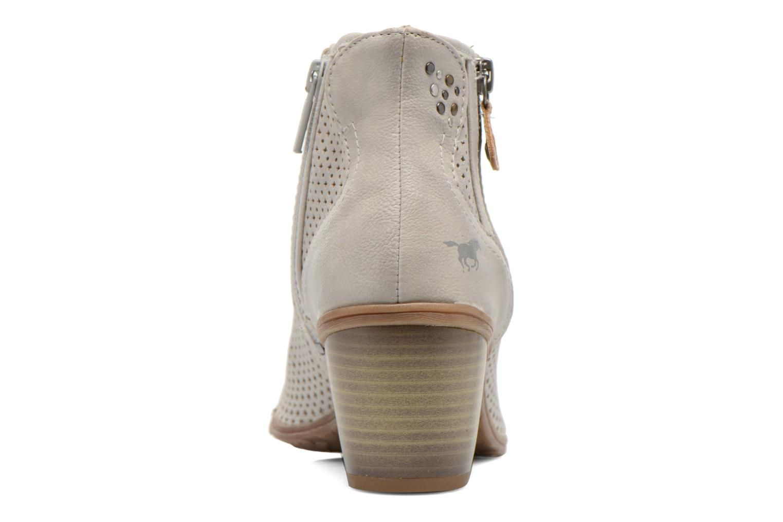 Bottines et boots Mustang shoes Lowle Gris vue droite