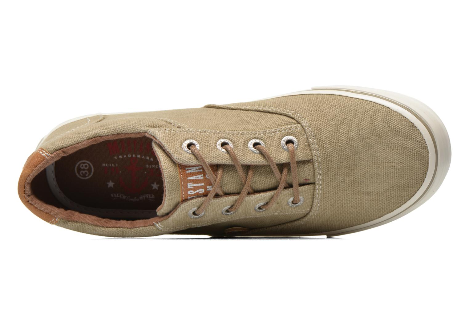 Sneakers Mustang shoes Shown Beige se fra venstre