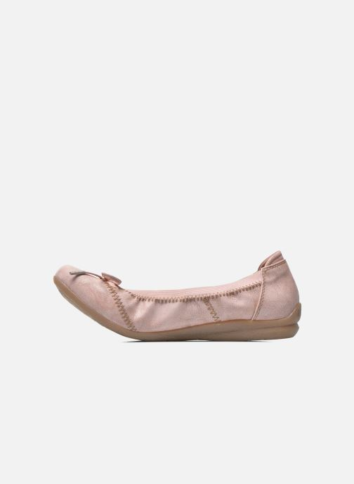 Ballerines Mustang shoes Lasle Rose vue face