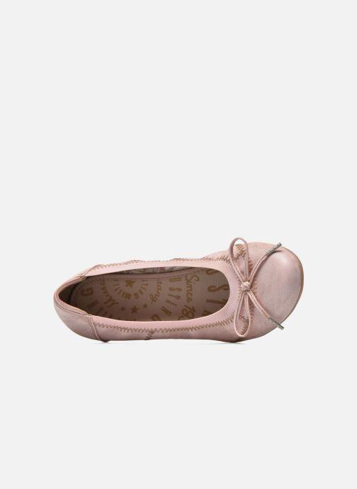 Ballerines Mustang shoes Lasle Rose vue gauche
