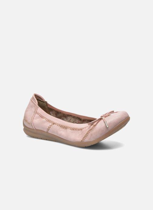 Ballerines Mustang shoes Lasle Rose vue détail/paire