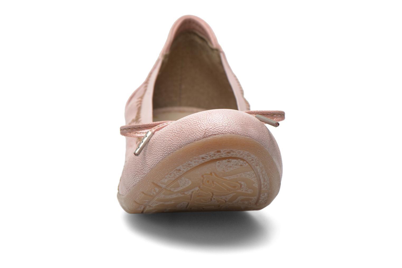Ballerine Mustang shoes Lasle Rosa modello indossato