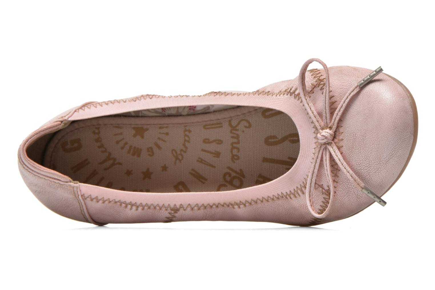 Ballerine Mustang shoes Lasle Rosa immagine sinistra
