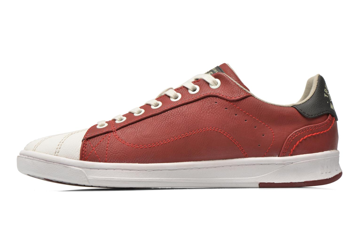 Sneakers Mustang shoes Walala Rosso immagine frontale