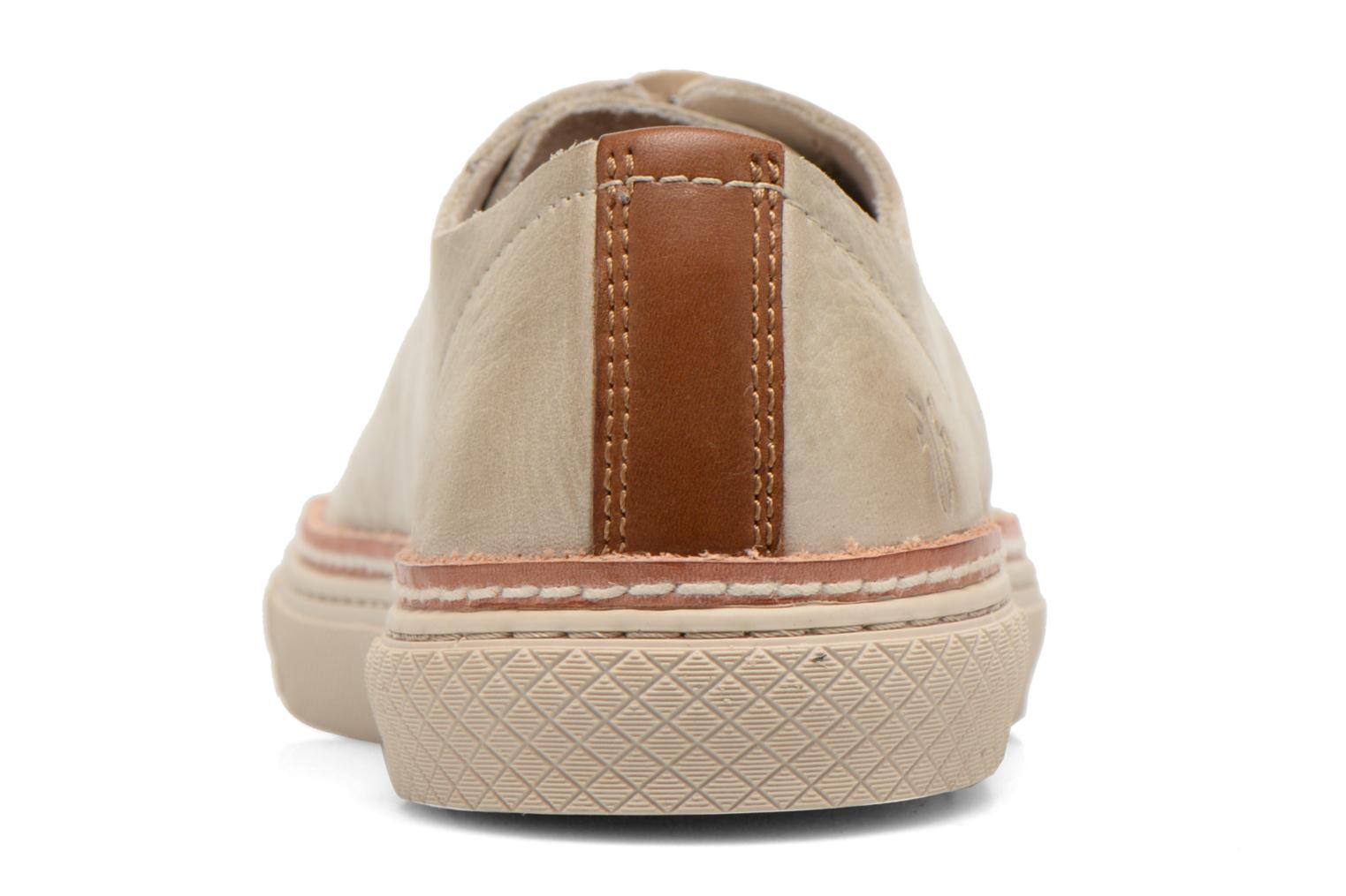 Baskets Frye Gates Low Lace Beige vue droite