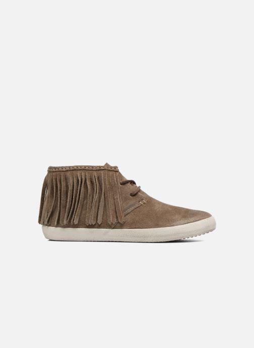 Sneakers Frye Dylan Fringe Brun se bagfra