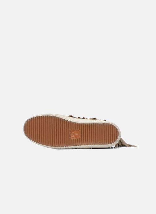 Sneaker Frye Dylan Fringe braun ansicht von oben