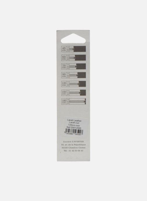 Cordones Famaco Cordones de cuero Negro vista del modelo