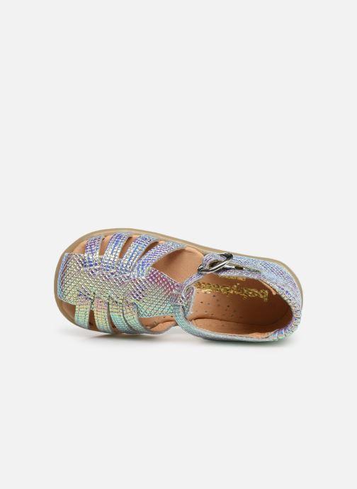 Sandales et nu-pieds Babybotte Guppy Multicolore vue gauche