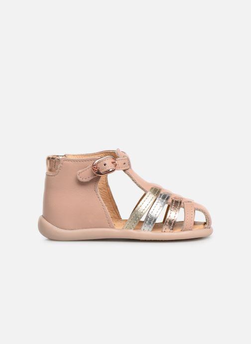 Sandales et nu-pieds Babybotte Guppy Beige vue derrière