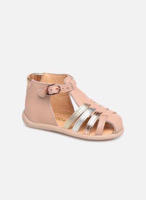 Sandales et nu-pieds Babybotte Guppy Beige vue détail/paire