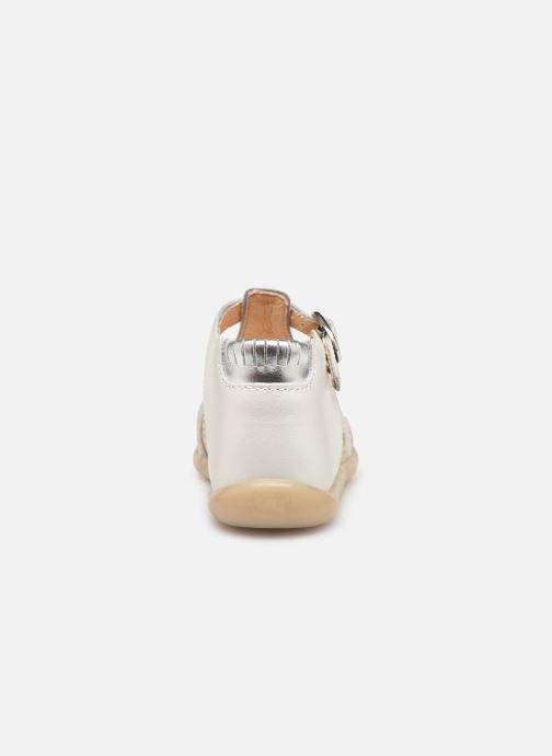 Sandalen Babybotte Guppy weiß ansicht von rechts