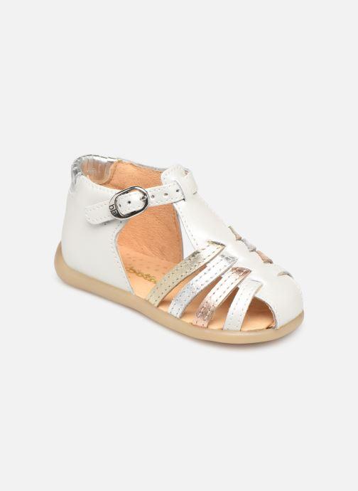 Sandales et nu-pieds Babybotte Guppy Blanc vue détail/paire