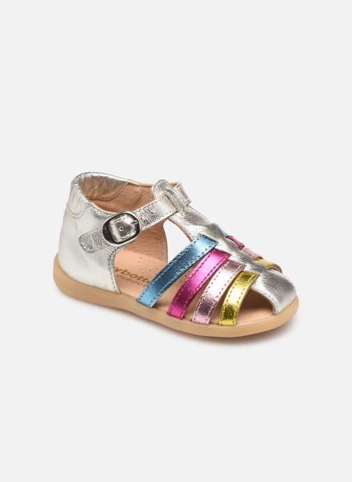 Sandales et nu-pieds Babybotte Guppy Argent vue détail/paire