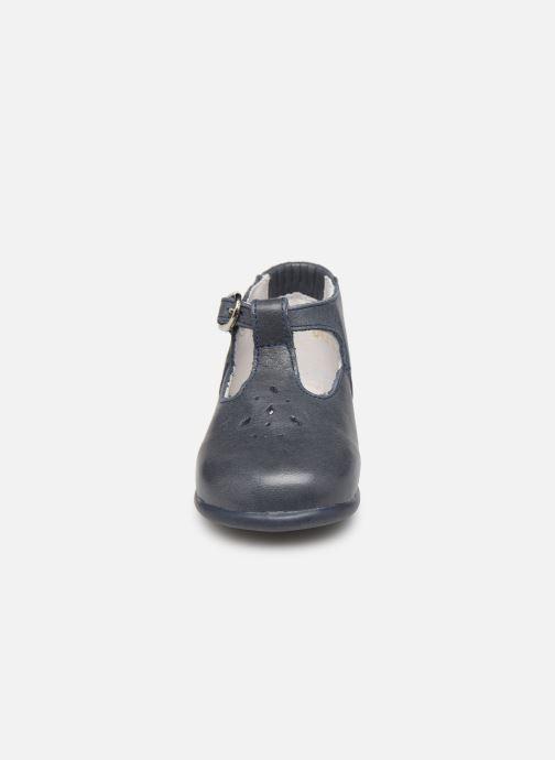 Bottines et boots Babybotte Paris Bleu vue portées chaussures