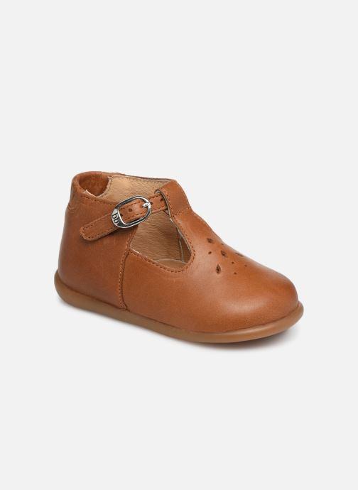 Bottines et boots Babybotte Paris Marron vue détail/paire