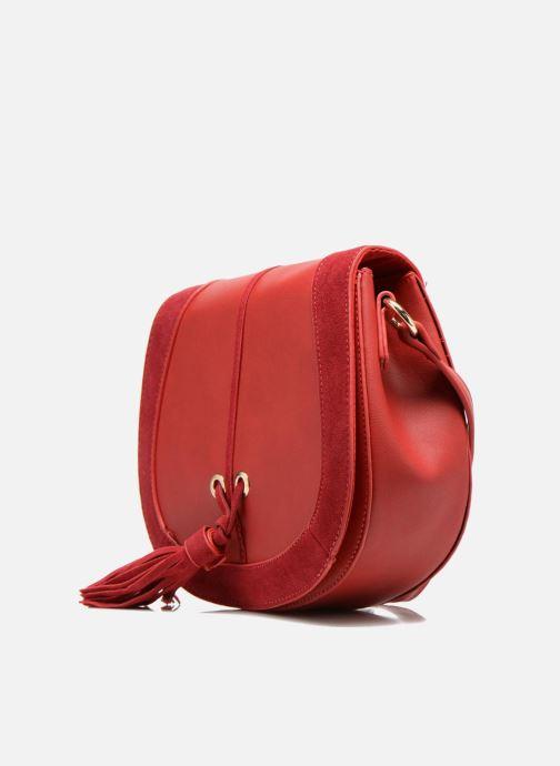 Borse Georgia Rose Bonnid Rosso modello indossato