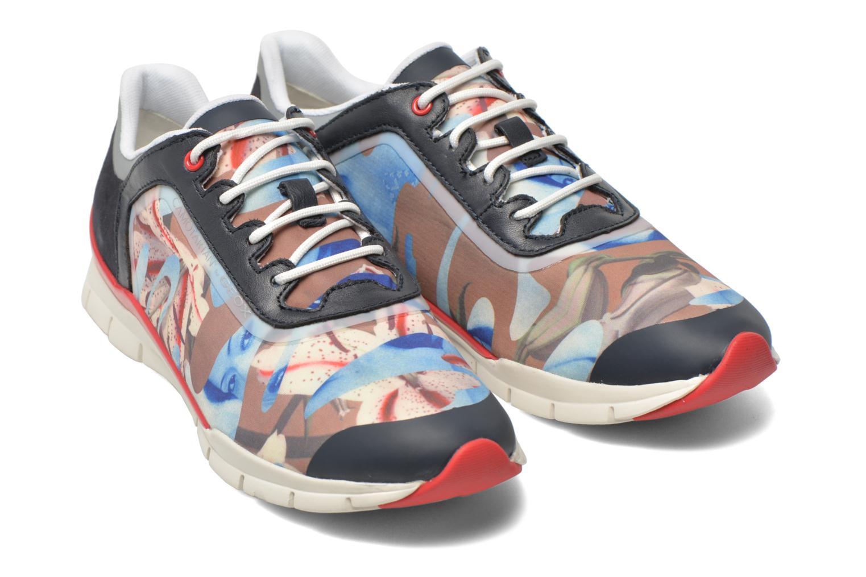 Sneakers Geox D SUKIE E D62F2E Azzurro immagine 3/4