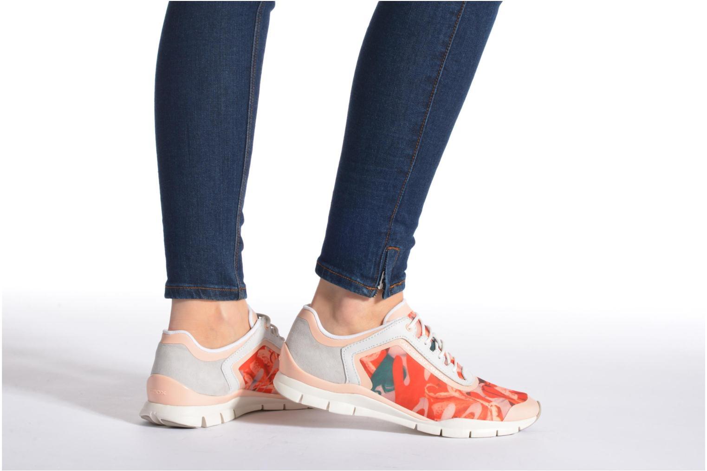 Sneakers Geox D SUKIE E D62F2E Azzurro immagine dal basso