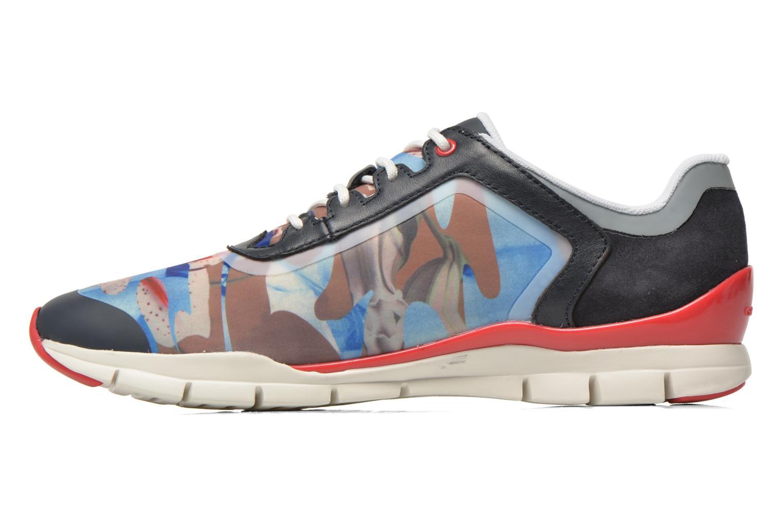 Sneakers Geox D SUKIE E D62F2E Azzurro immagine frontale