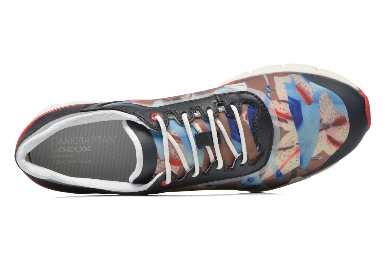 Sneakers Geox D SUKIE E D62F2E Azzurro immagine sinistra
