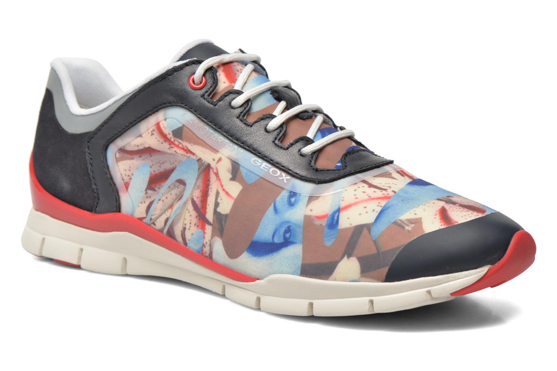Sneakers Geox D SUKIE E D62F2E Azzurro vedi dettaglio/paio